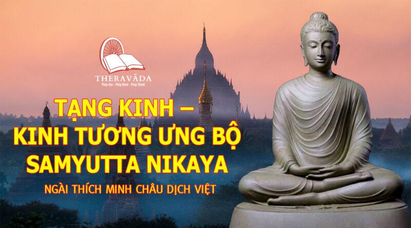 TẠNG KINH - KINH TƯƠNG ƯNG BỘ SAMYUTTA NIKAYA - NGÀI THÍCH MINH CHÂU