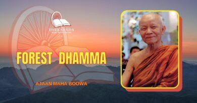 FOREST DHAMMA - AJAAN MAHA BOOWA