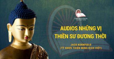 Audios Những Vị Thiền Sư Đương Thời - Jack Kornfield (tỳ Khưu Thiện Minh Dịch Việt)
