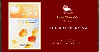 THE ART OF DYING - S.N. GOENKA & VIRGINIA HAMILTON