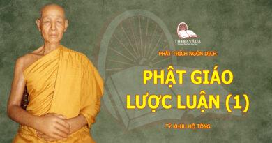 PHAT TRICH NGON DICH-TY KHUU HO TONG-THERAVADA