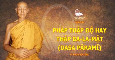THAP DO-TY KHUU HO TONG-THERAVADA