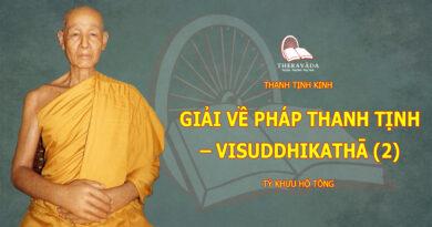 THANH TINH KINH-TY KHUU HO TONG-THERAVADA