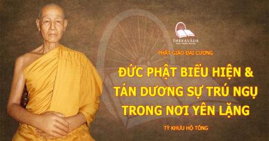 PHAT GIAO DAI CUONG-TY KHUU HO TONG-THERAVADA
