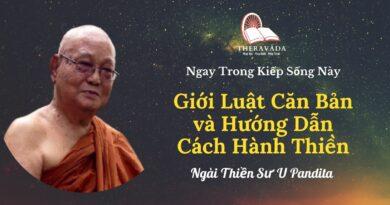 Gioi-luat-can-ban-va-huong-dan-cach-hanh-thien-Ngay-trong-kiep-song-nay-U-Pandita-Theravada