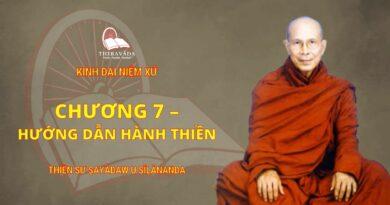 Chương 7 - Hướng Dẫn Hành Thiền