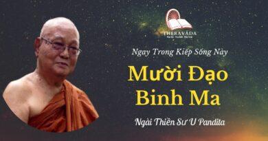 Muoi-dao-binh-ma--Ngay-trong-kiep-song-nay-U-Pandita-Theravada