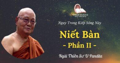 Niet-ban-phan-II-Ngay-trong-kiep-song-nay-U-Pandita-Theravada