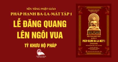 Videos [Pháp Hạnh Ba-La-Mật] 14. Lễ Đăng Quang Lên Ngôi Vua - Tỳ Khưu Hộ Pháp