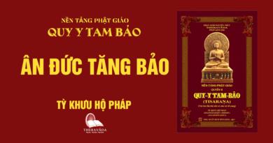 Videos [QUY Y TAM BẢO] 09. Ân Đức Tăng Bảo - Tỳ Khưu Hộ Pháp