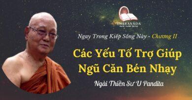 Chuong-II-Cac-yeu-to-tro-giup-ngu-can-ben-nhay-Ngay-trong-kiep-song-nay-U-Pandita-Theravada