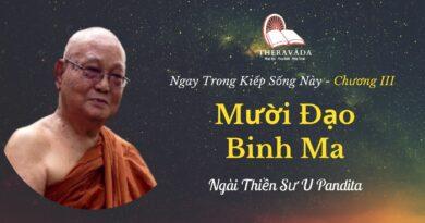 Chuong-III-Muoi-dao-binh-ma-Ngay-trong-kiep-song-nay-U-Pandita-Theravada