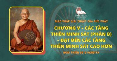 Chương V - Các Tầng Thiền Minh Sát (Phần B) - Ðạt Ðến Các Tầng Thiền Minh Sát Cao Hơn
