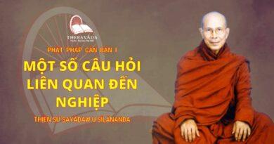 Phật Pháp Căn Bản Phần I - Một Số Câu Hỏi Liên Quan Đến Nghiệp