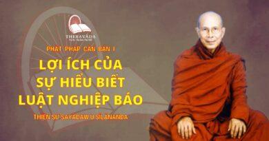 Phật Pháp Căn Bản Phần I - Lợi Ích Của Sự Hiểu Biết Luật Nghiệp Báo