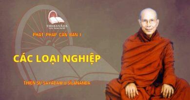 Phật Pháp Căn Bản Phần I - Các Loại Nghiệp