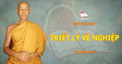 TRIET LY VE NGHIEP-TY KHUU HO TONG-THERAVADA