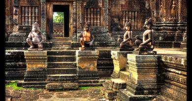Siem Reap K - Banteay Srei Tempel 04