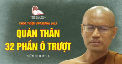 Videos 5. Quán Thân - 32 Phần Ô Trượt | Thiền Sư U Jatila - Khóa Thiền Năm 2015
