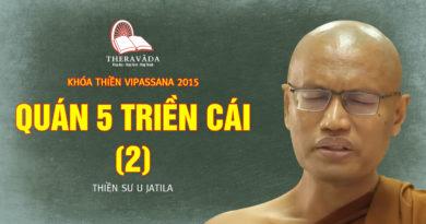 Videos 9. Quán 5 Triền Cái (2) | Thiền Sư U Jatila - Khóa Thiền Năm 2015
