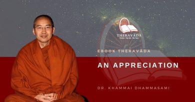 AN APPRECIATION - DR. KHAMMAI DHAMMASAMI