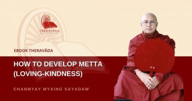 HOW TO DEVELOP METTA (LOVING-KINDNESS) - CHANMYAY MYAING SAYADAW