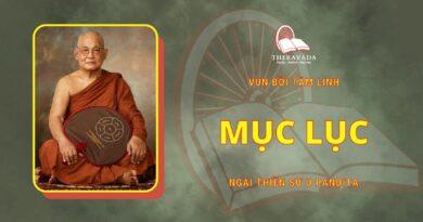 Vun Bồi Tâm Linh - Mục Lục