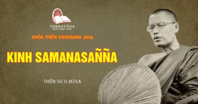 Videos 6. Kinh Samanasañña | Thiền Sư U Jatila - Khóa Thiền Năm 2016