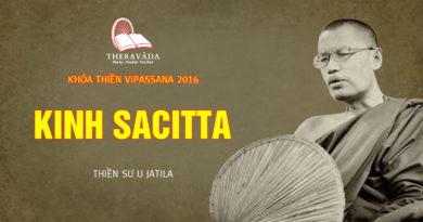 Videos 7. Kinh Sacitta | Thiền Sư U Jatila - Khóa Thiền Năm 2016