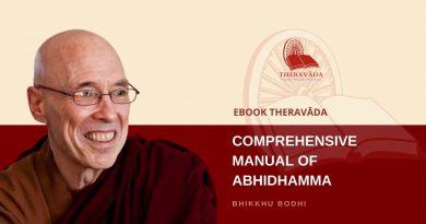 COMPREHENSIVE MANUAL OF ABHIDHAMMA - BHIKKHU BODHI