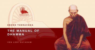 THE MANUAL OF DHAMMA - BY VEN LEDI SAYADAW
