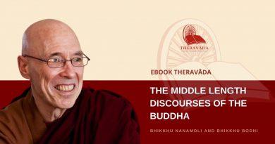THE MIDDLE LENGTH DISCOURSES OF THE BUDDHA - BHIKKHU NANAMOLI AND BHIKKHU BODHI