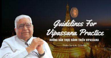 Hướng Dẫn Thực Hành Thiền Vipassana 2