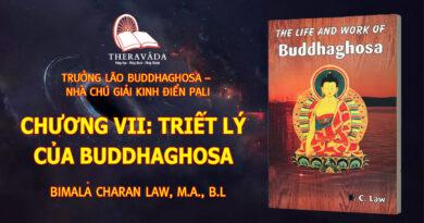 CHƯƠNG VII: TRIẾT LÝ CỦA BUDDHAGHOSA
