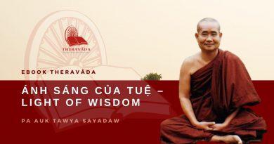 ÁNH SÁNG CỦA TUỆ - LIGHT OF WISDOM - PA AUK TAWYA SAYADAW