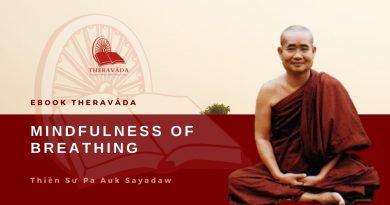 MINDFULNESS OF BREATHING - PA AUK SAYADAW