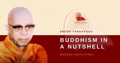 BUDDHISM IN A NUTSHELL - NARADA MAHATHERA