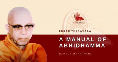 A MANUAL OF ABHIDHAMMA - NÀRADA MAHÀ THERA