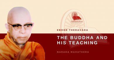THE BUDDHA AND HIS TEACHING - NARADA MAHA THERA