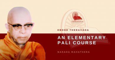 AN ELEMENTARY PALI COURSE - BY NARADA THERA