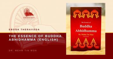 THE ESSENCE OF BUDDHA ABHIDHAMMA (ENGLISH) - DR. MEHM TIN MON