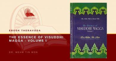THE ESSENCE OF VISUDDHI MAGGA - VOLUME I - DR. MEHM TIN MON