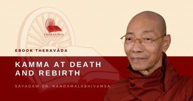 KAMMA AT DEATH AND REBIRTH - SAYADAW DR. NANDAMALABHIVAMSA
