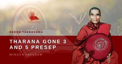 THARANA GONE 3 AND 5 PRESEP - MINGUN SAYADAW