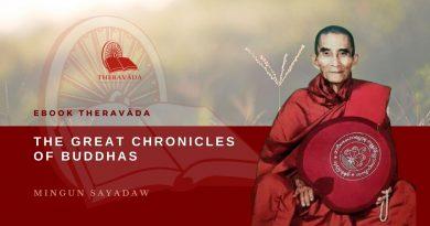 THE GREAT CHRONICLES OF BUDDHAS - MINGUN SAYADAW