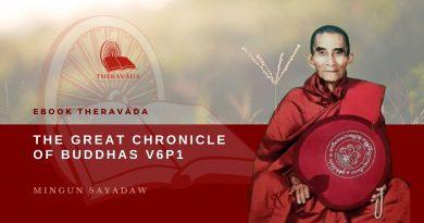 THE GREAT CHRONICLE OF BUDDHAS V6P1 - MINGUN SAYADAW