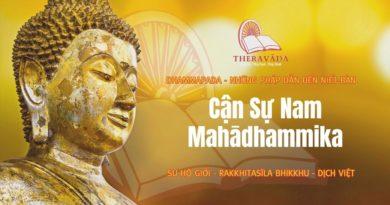 Cận Sự Nam Mahādhammika