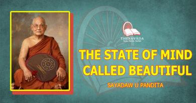THE STATE OF MIND CALLED BEAUTIFUL - SAYADAW U PANDITABHIVAMSA