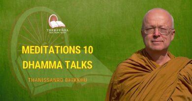 MEDITATIONS 10 DHAMMA TALKS - THANISSANRO BHIKKHU