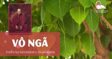 Audios Cuốn Vô Ngã - Thiền Sư Sayadaw U Silananda